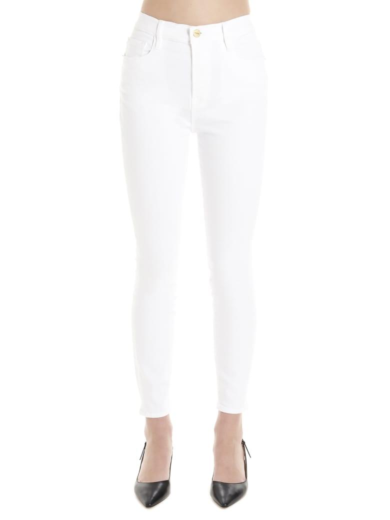 Frame 'ali' Jeans - White