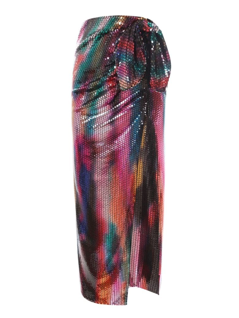 "The Attico ""joanna"" Multicolor Long Skirt - Multicolor"