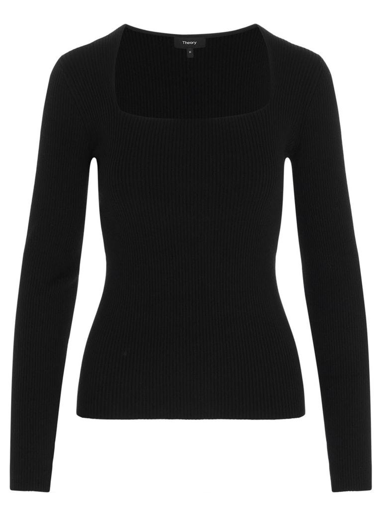 Theory 'portrait' Sweater - Black