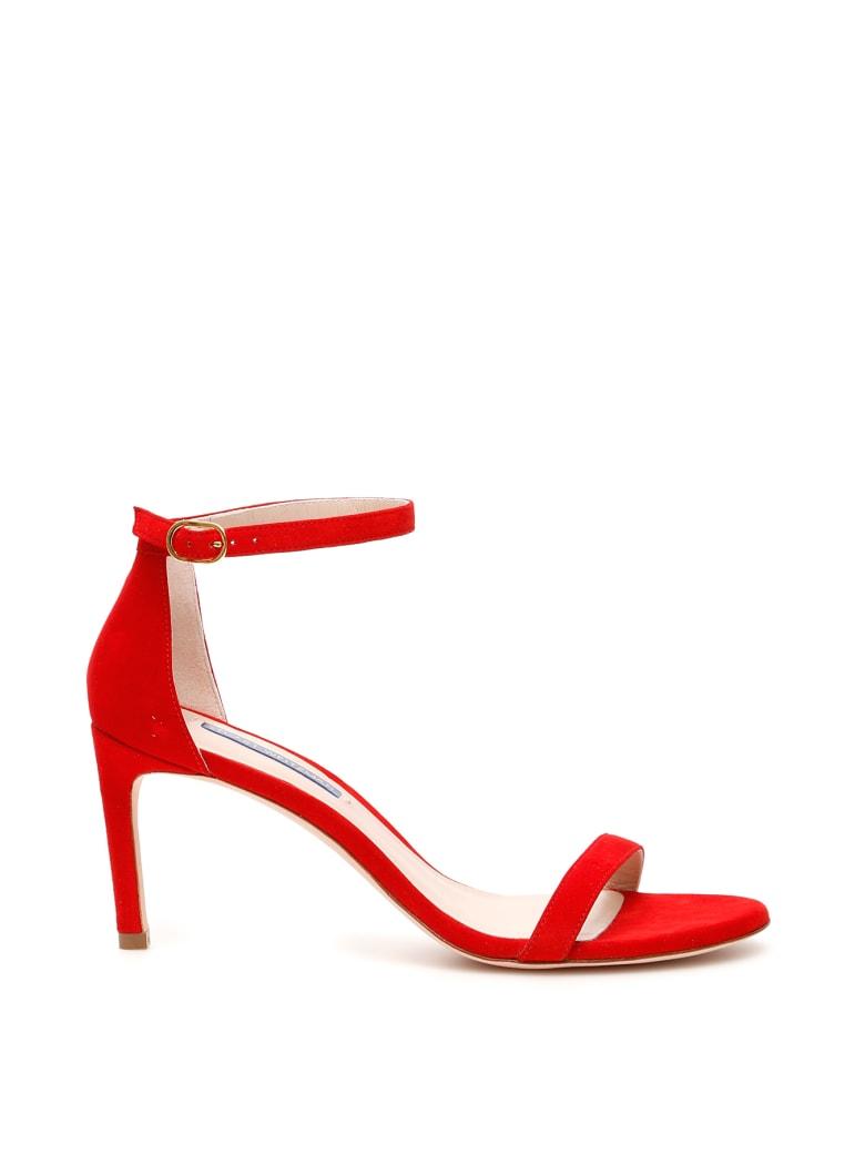 Stuart Weitzman Nunakedstraight Sandals - FOLLOW ME RED