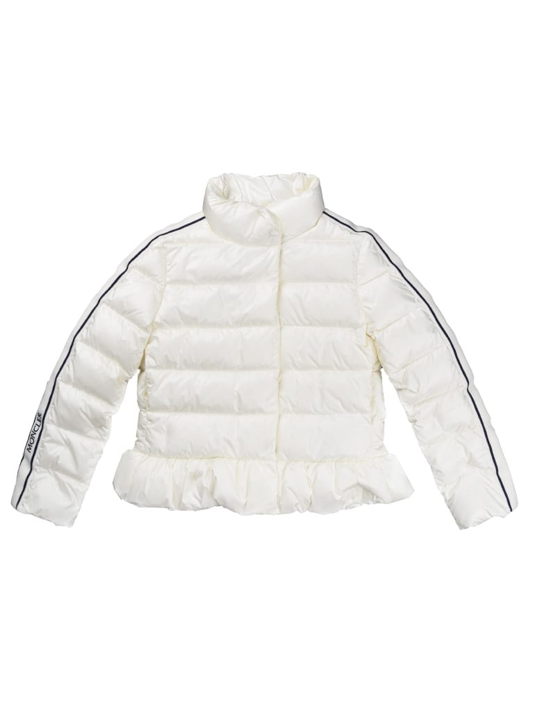 Moncler Laurier Feather Jacket Without Ivory Hood - ivory