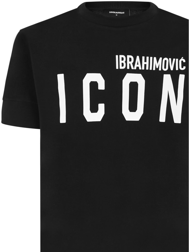 Dsquared2 X Ibra Icon T-shirt - Black