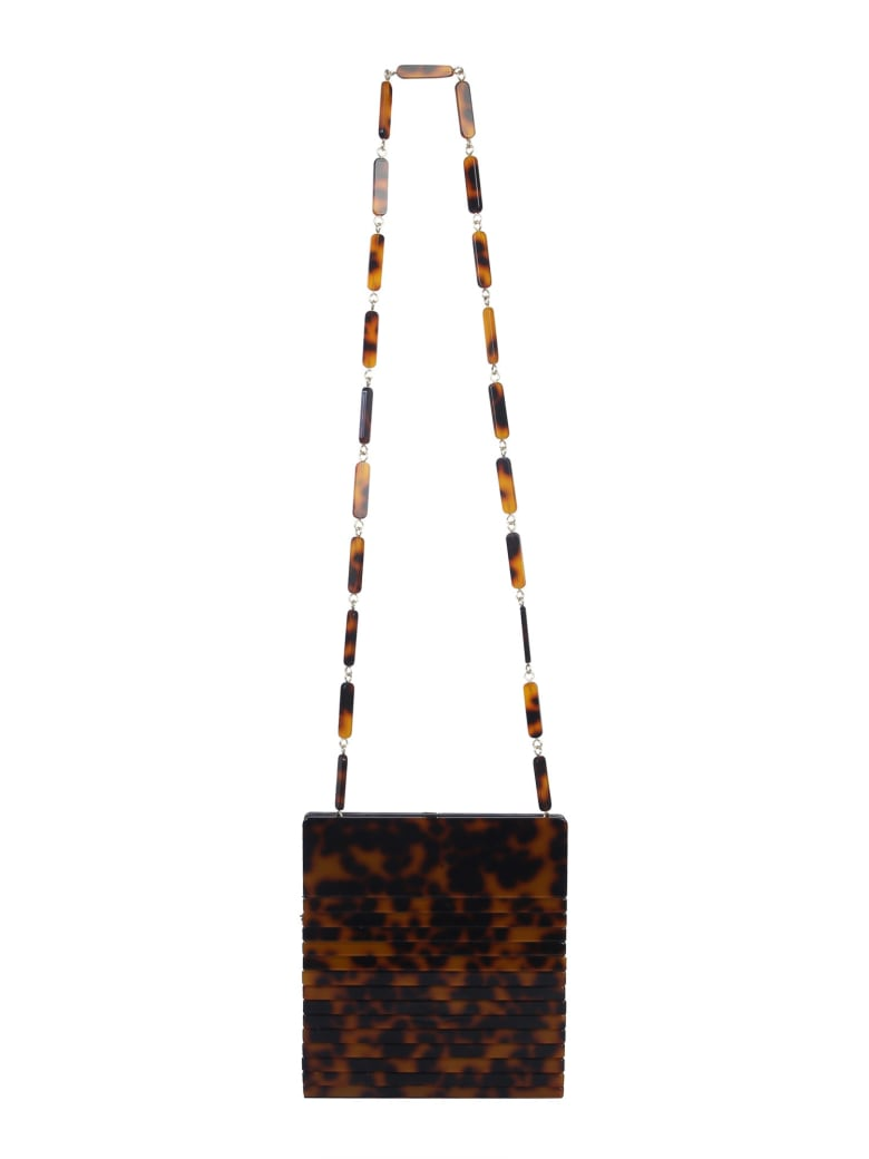 Cult Gaia Dixie Shoulder Bag - MARRONE