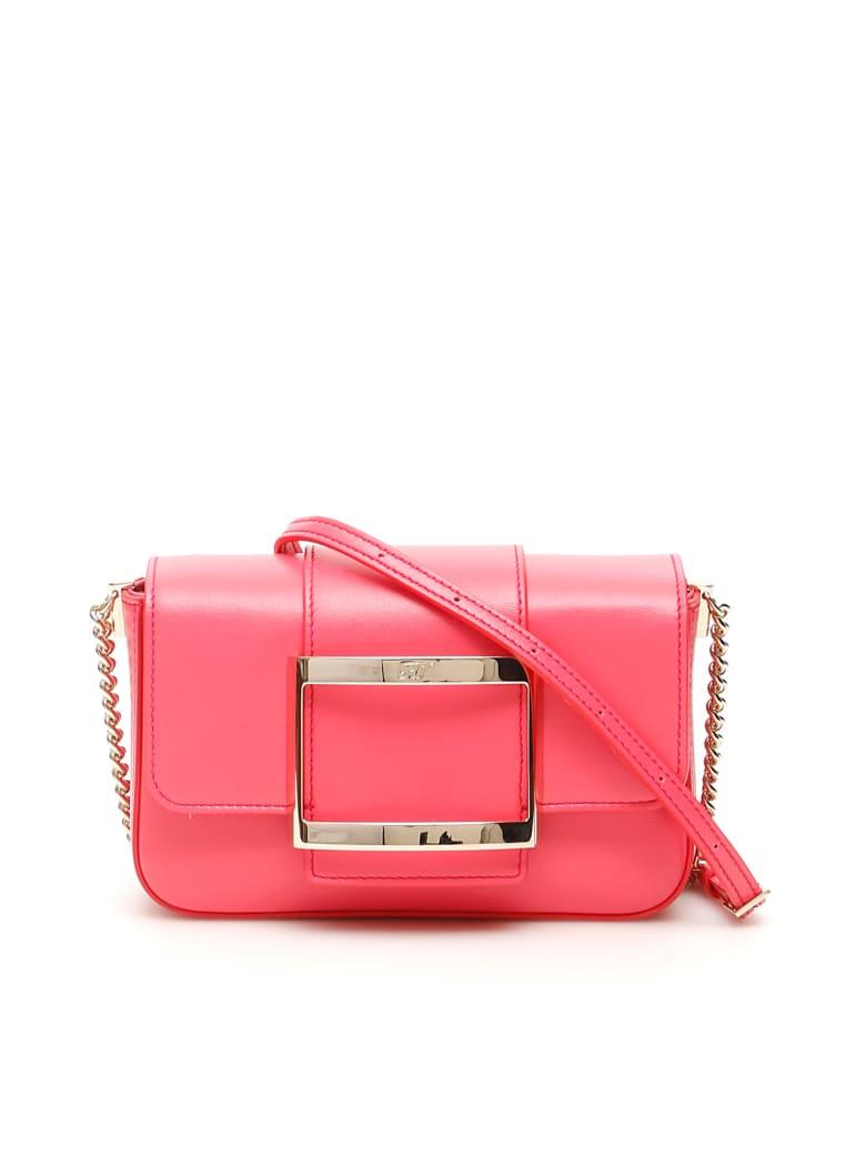 Roger Vivier Très Vivier Micro Bag - PARIS (Pink)