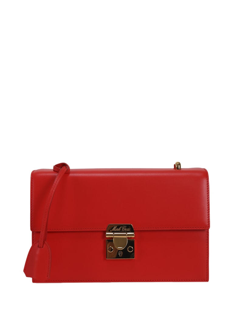 Mark Cross Red Downtown Bag - Red