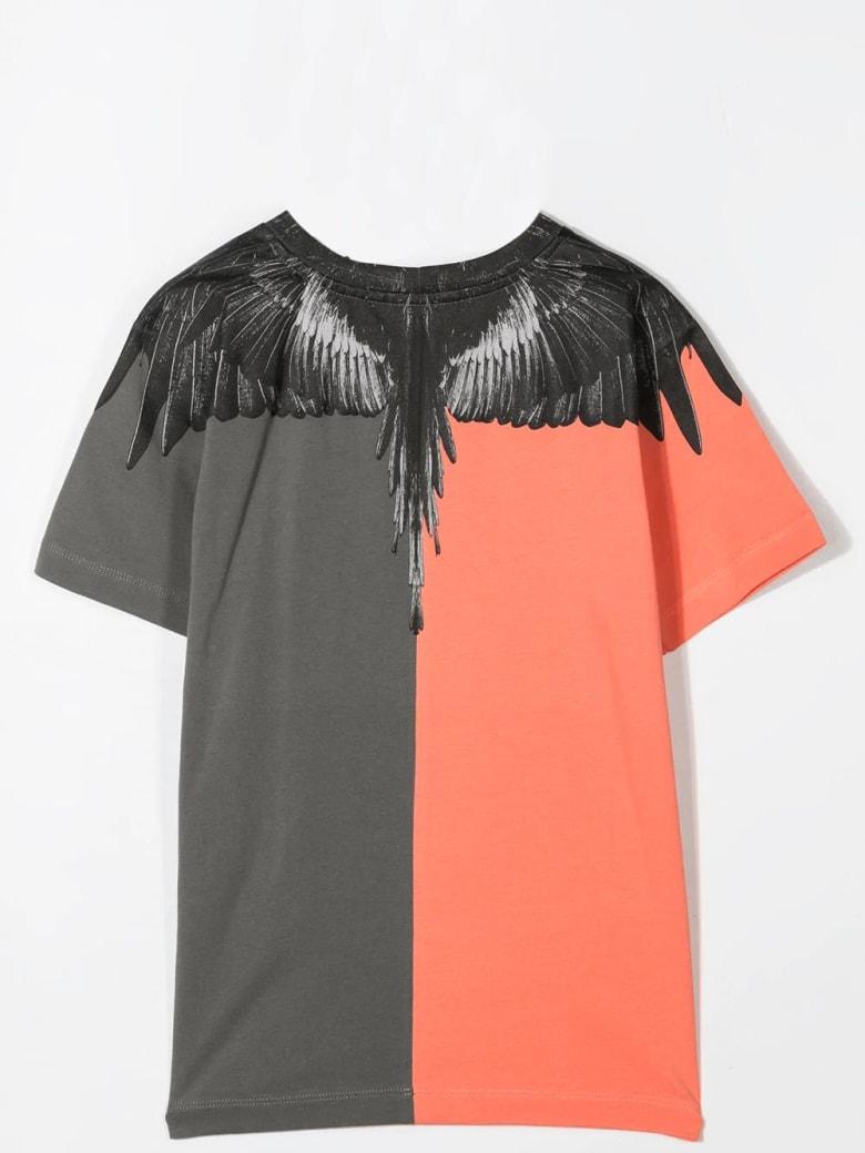 Marcelo Burlon Print T-shirt - Salmon