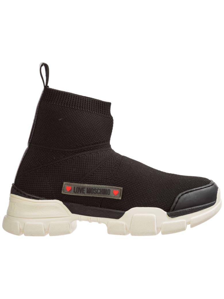 Love Moschino H222 High-top Sneakers - Nero