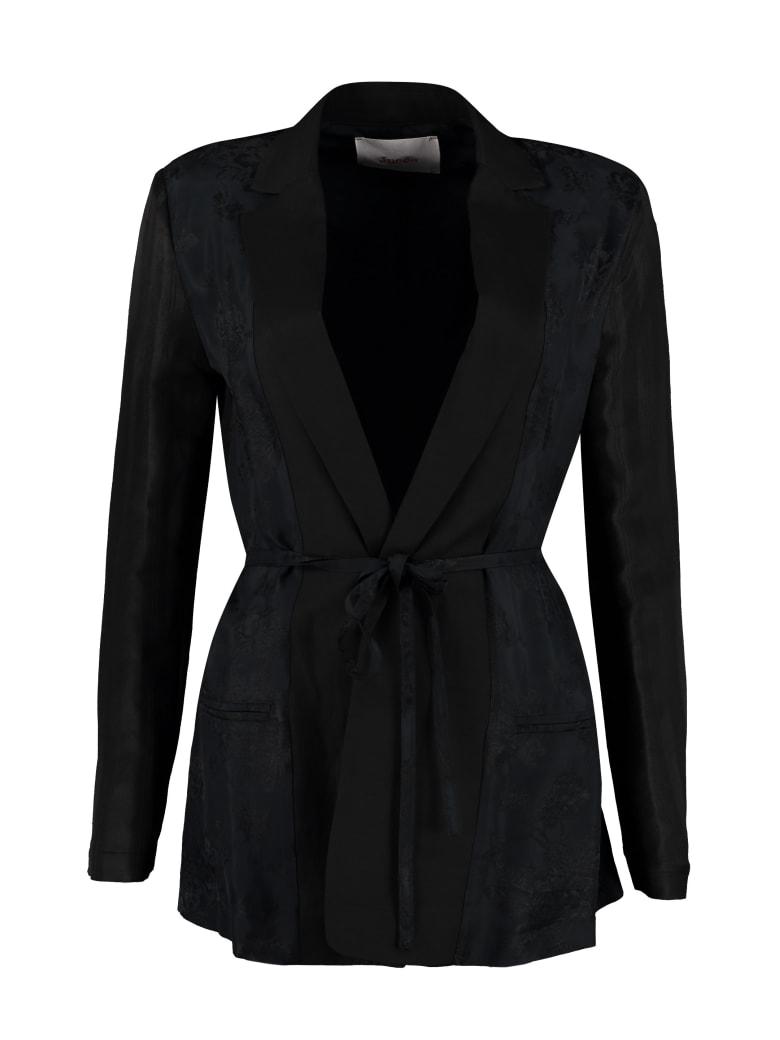 Jucca Brocade Blazer - black