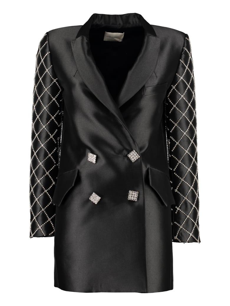 Giuseppe di Morabito Embellished Buttons Blazer Dress - black