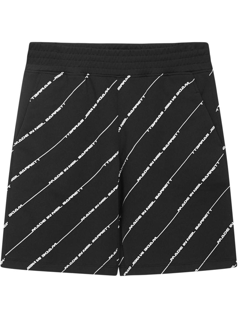 Neil Barrett Kids Shorts - Black