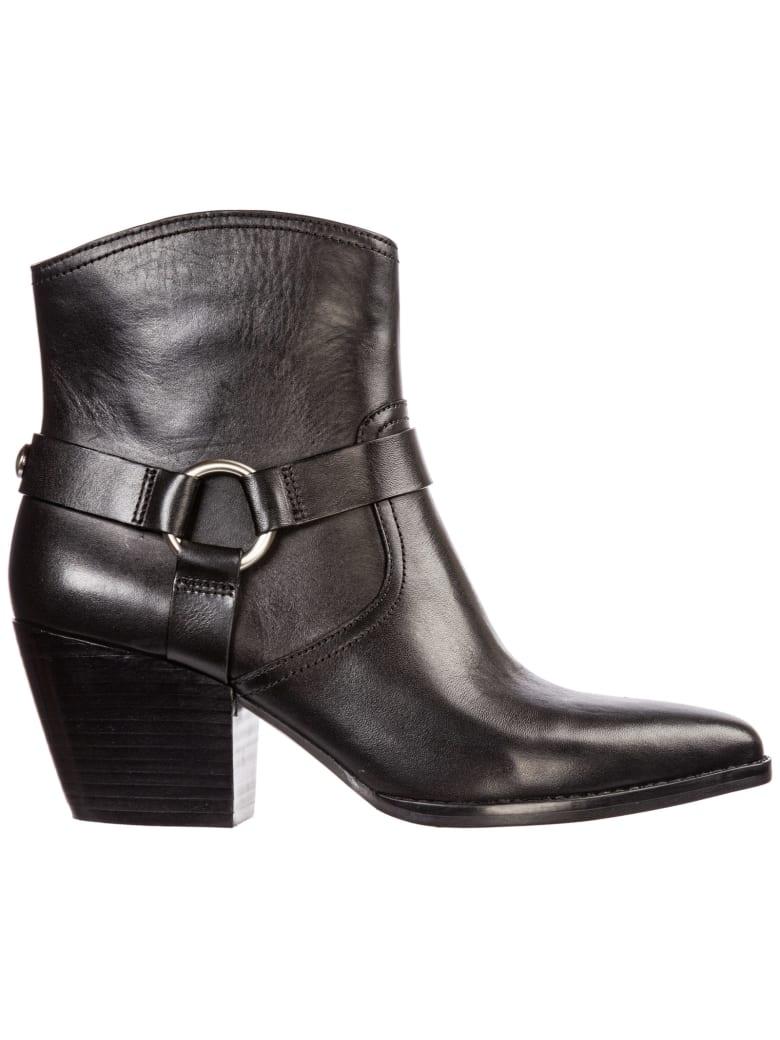 big sale 86dc9 59f1c Best price on the market at italist | Michael Kors Michael Kors Damen Leder  Stiefeletten Stiefel Ankle Boots Mit Absatz