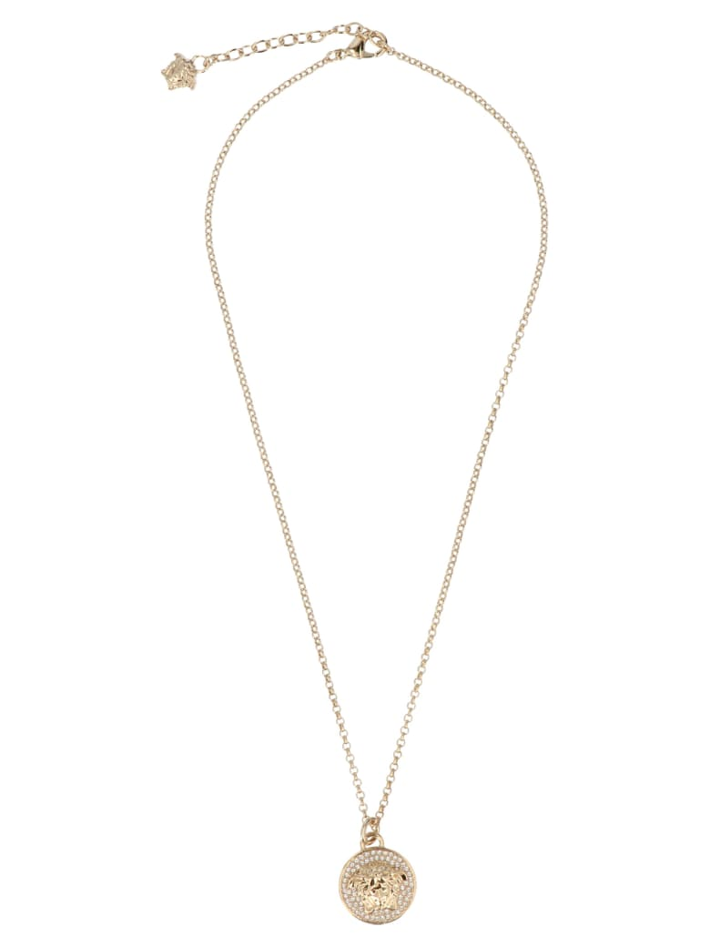 Versace 'medusa' Necklace - Gold