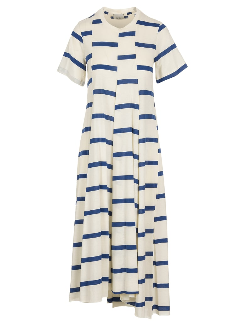 Alysi Cotton Dress - Cobalto