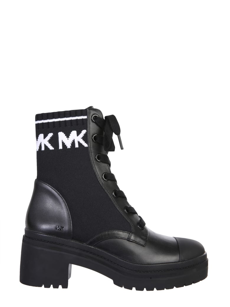 Michael Kors Brea Boots - Nero e Bianco