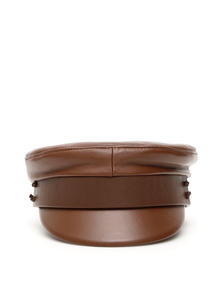 Ruslan Baginskiy Baker Boy Hat - BROWN (Brown)