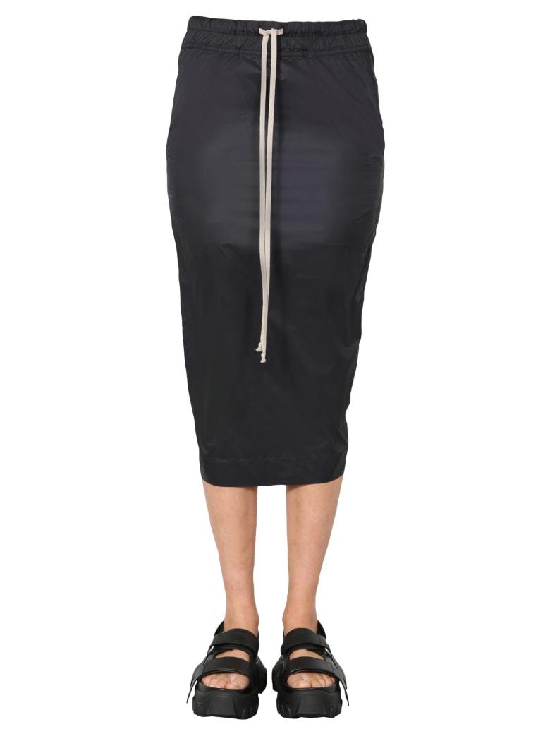 DRKSHDW Technical Fabric Skirt - NERO