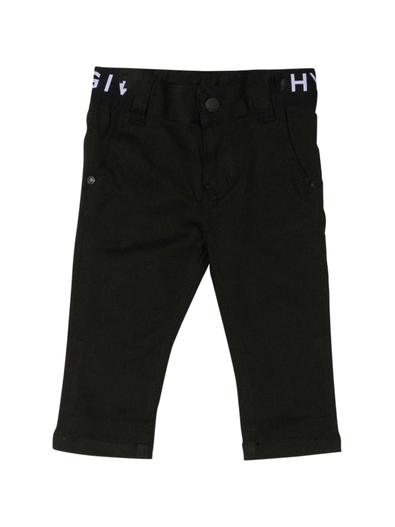 Givenchy Kids Side Band Jeans - Nero