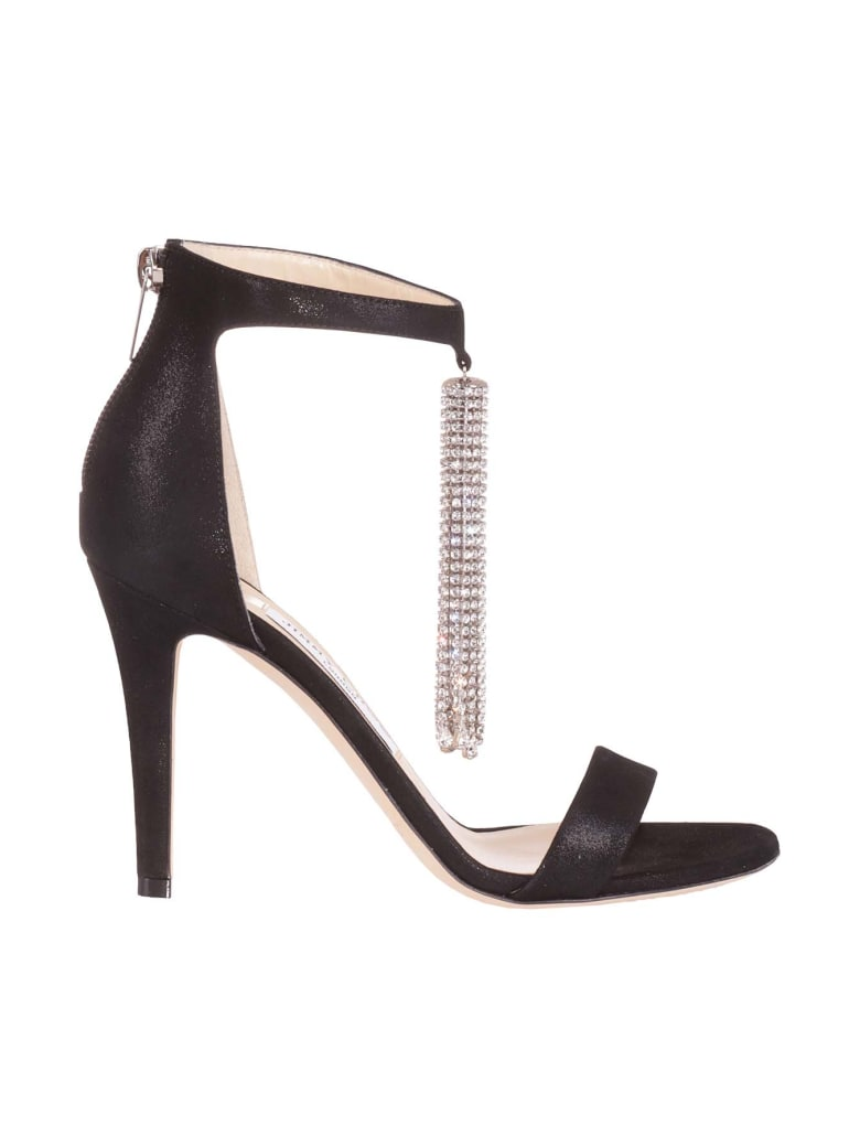 Jimmy Choo Sandals - Black Crystal
