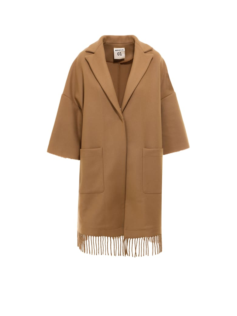SEMICOUTURE Coat - Brown