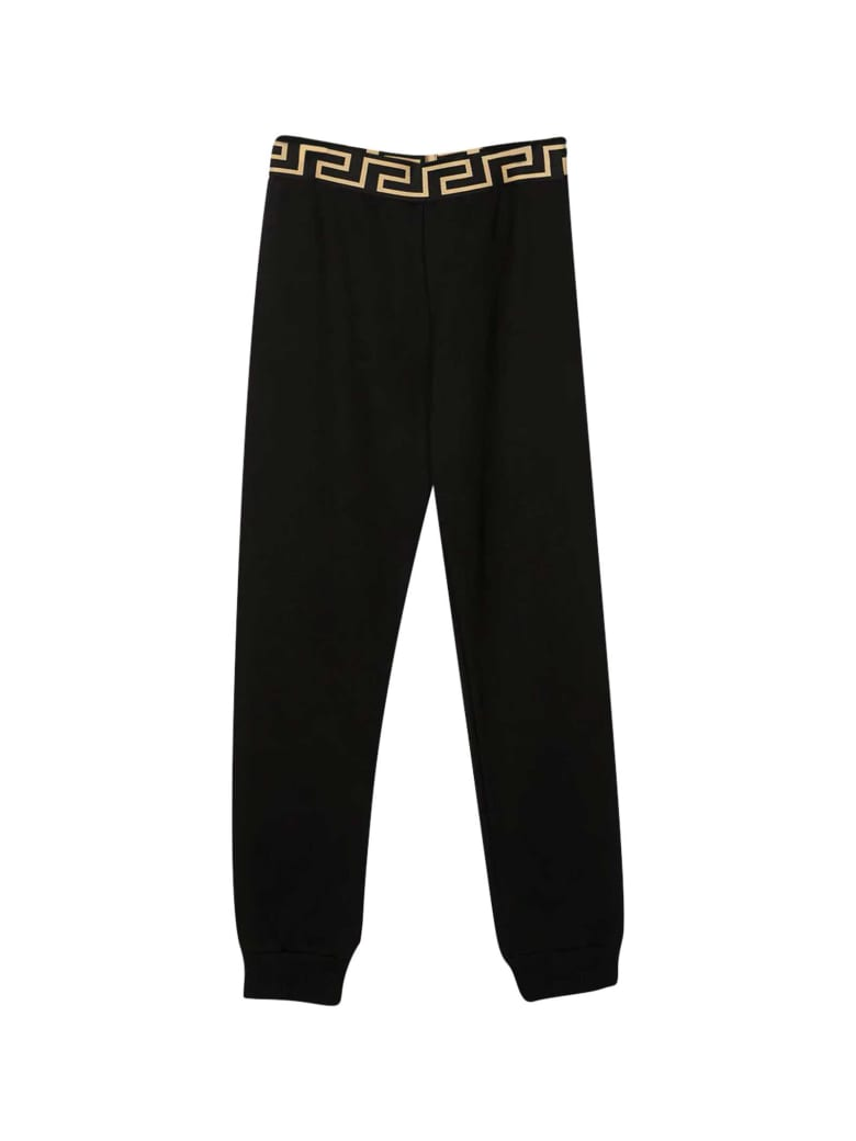 Young Versace Black Joggers - Nero