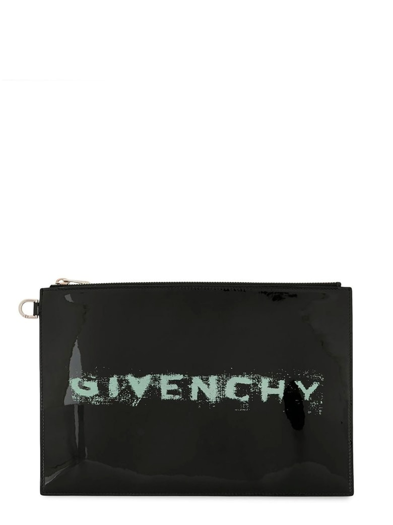 Givenchy Printed Pouch - NERO