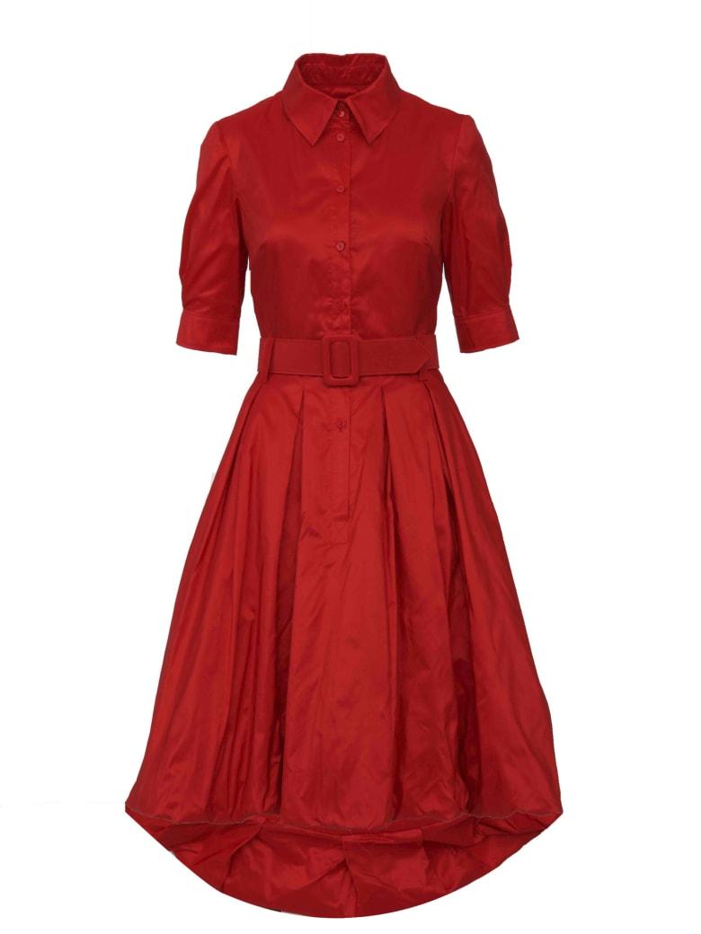 Oscar de la Renta Dress - Red