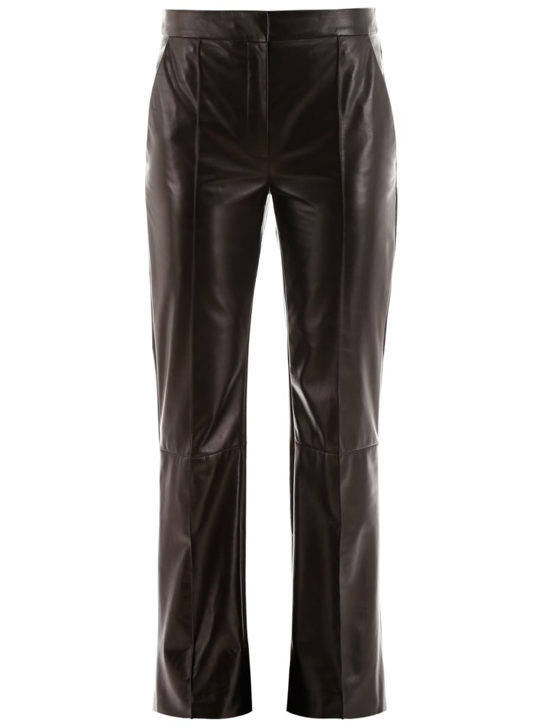 DROMe Leather Trousers - BLACK (Black)