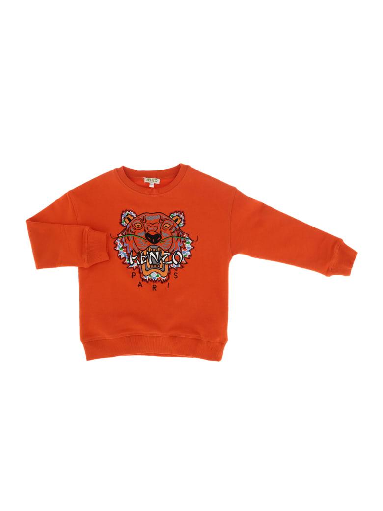 Kenzo Tiger Jb 6 Sweat - Arancione