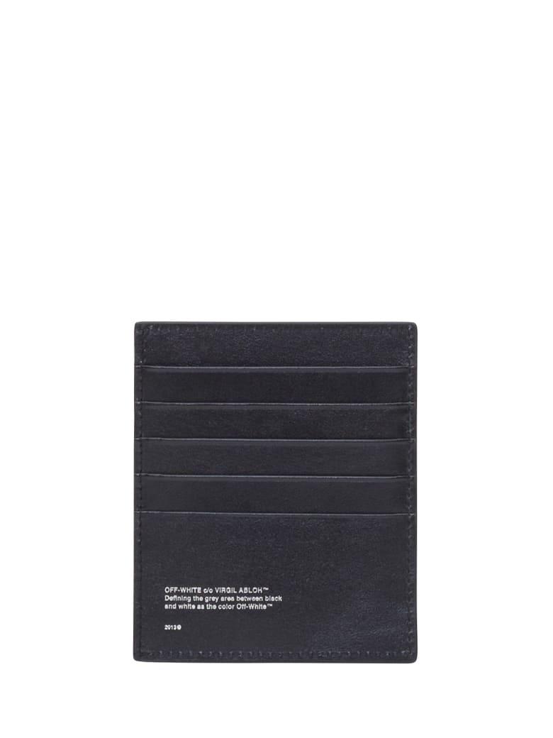 Off-White Logoed Card Holder - Nero