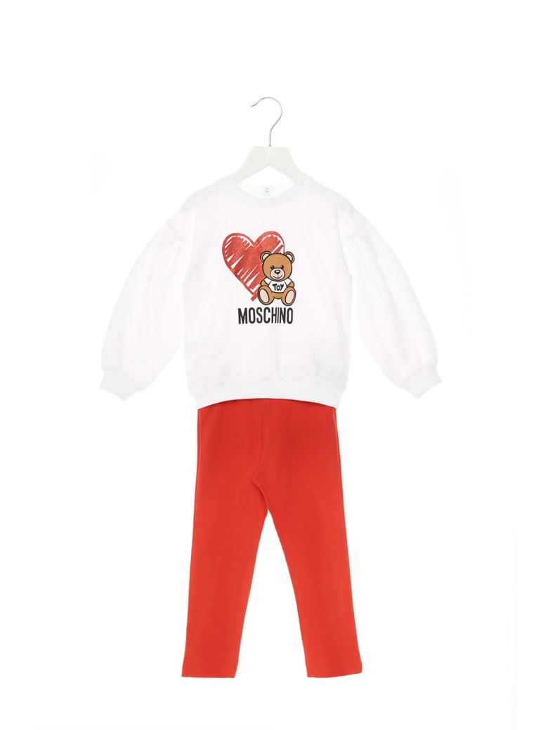 Moschino 'teddy Heart' Jumpsuits - Multicolor