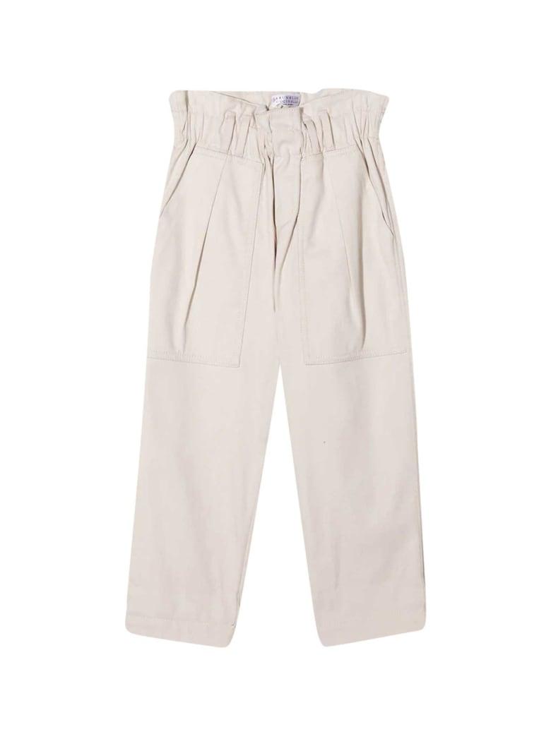 Brunello Cucinelli White Trousers - Bianco