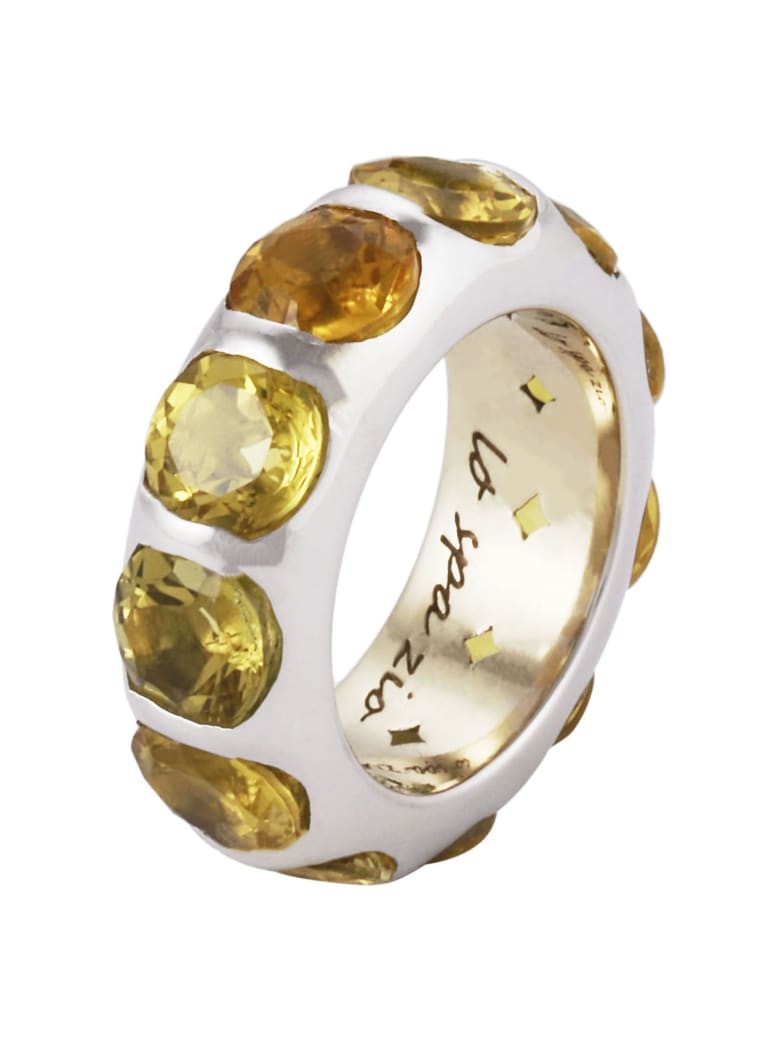 Lo Spazio Jewelry Lo Spazio Yellow Beryl Ring - Yellow