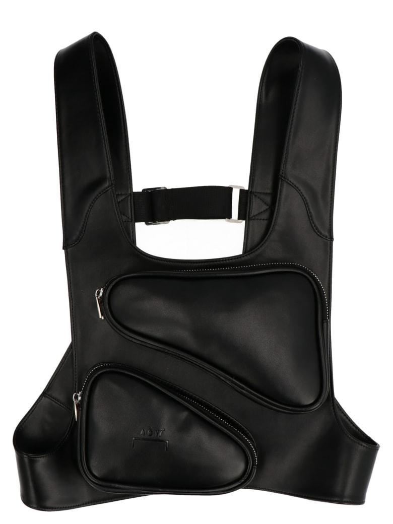 A-COLD-WALL '3d Pocket'  Bag - Black