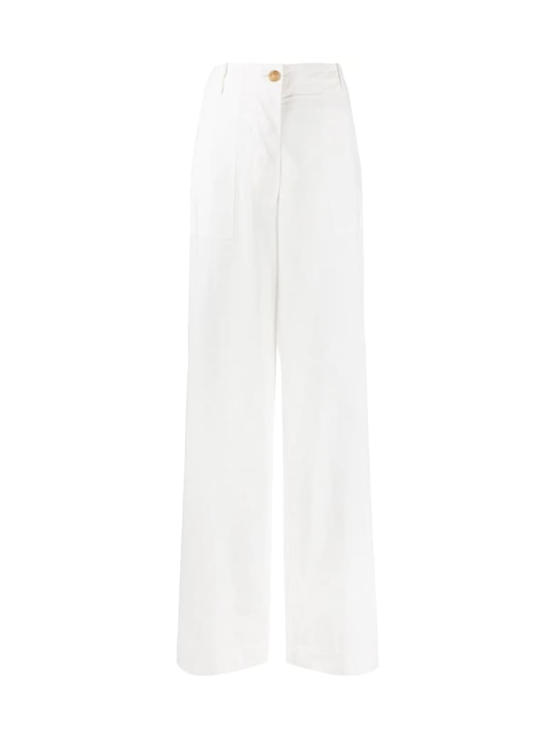 Erika Cavallini Livio Large Pants - White