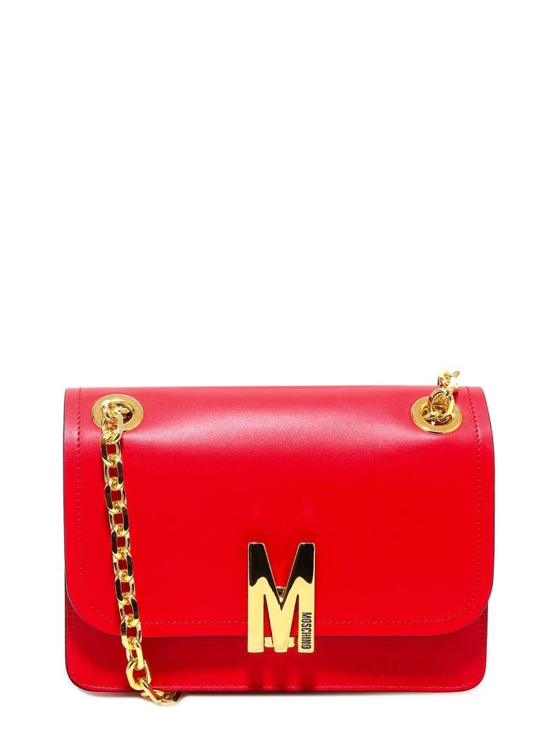 Moschino Shoulder Bag - Red