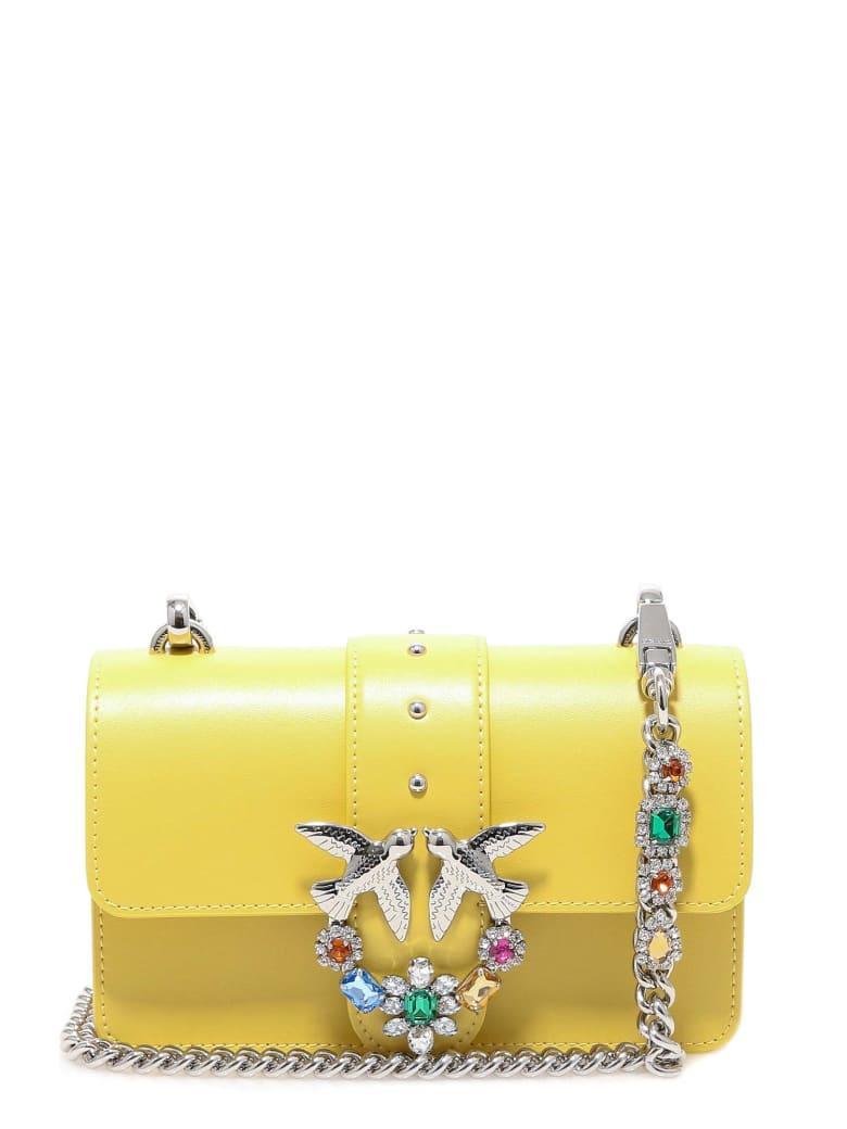 Pinko Shoulder Bag - Yellow
