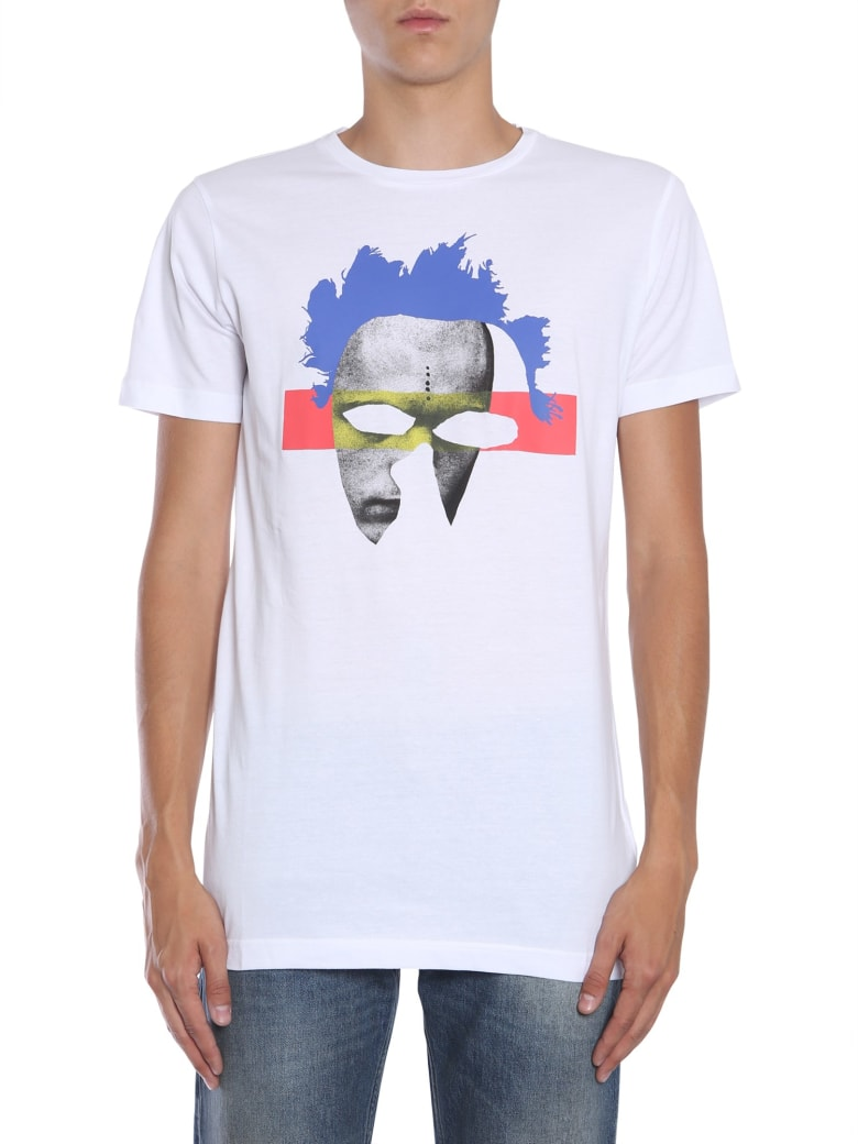 Diesel Black Gold Tyrone-m11 T-shirt - BIANCO
