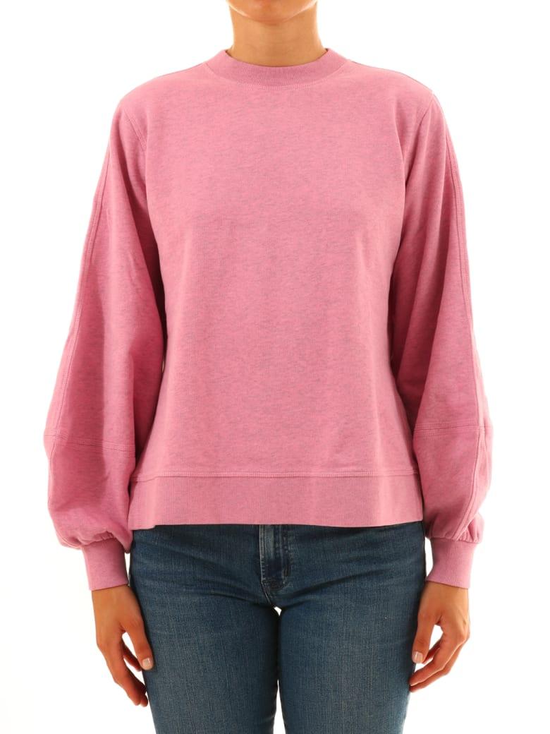 Ganni Isoli Sweatshirt Pink by Ganni