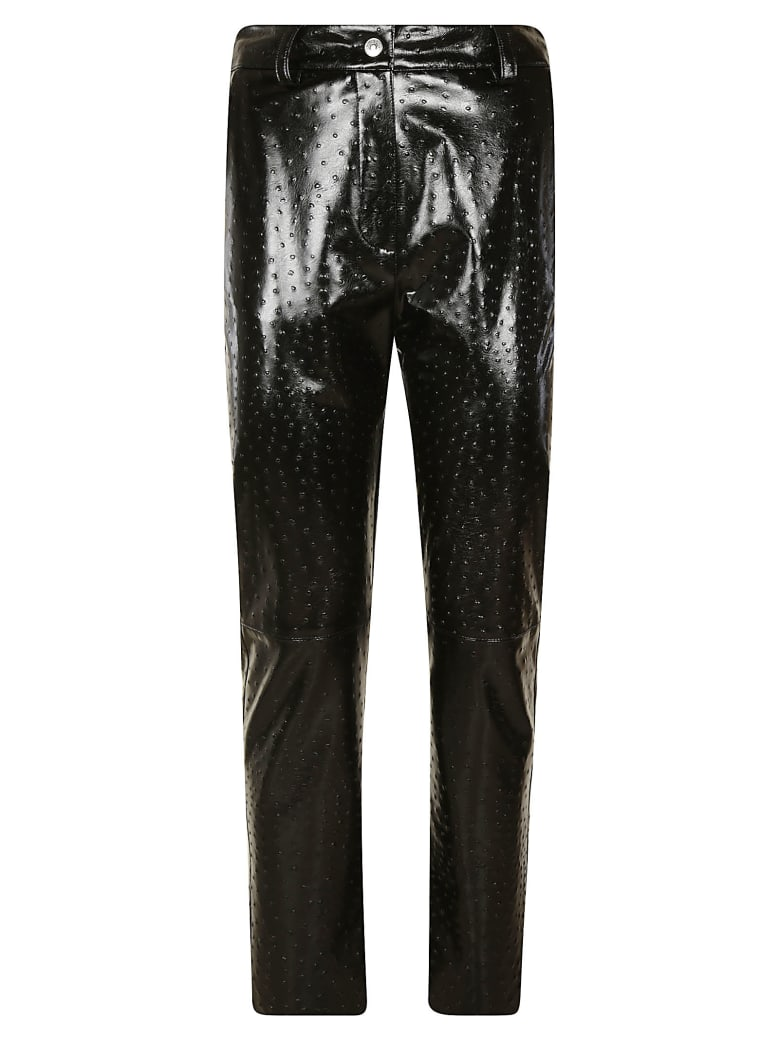 MSGM All-over Studded Trousers - Black
