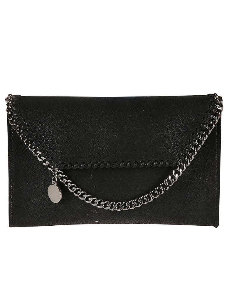 Stella McCartney Mini Fala Crossbody Bag - Black