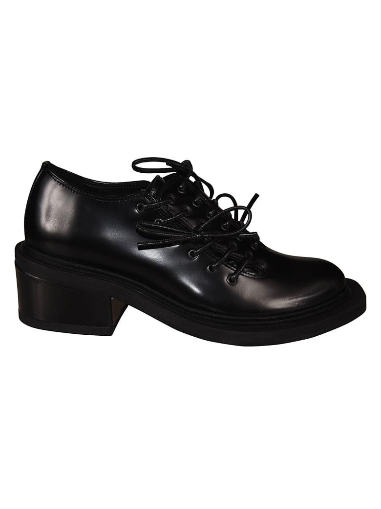 Simone Rocha Mid Heel Lace-up Shoes - Nero