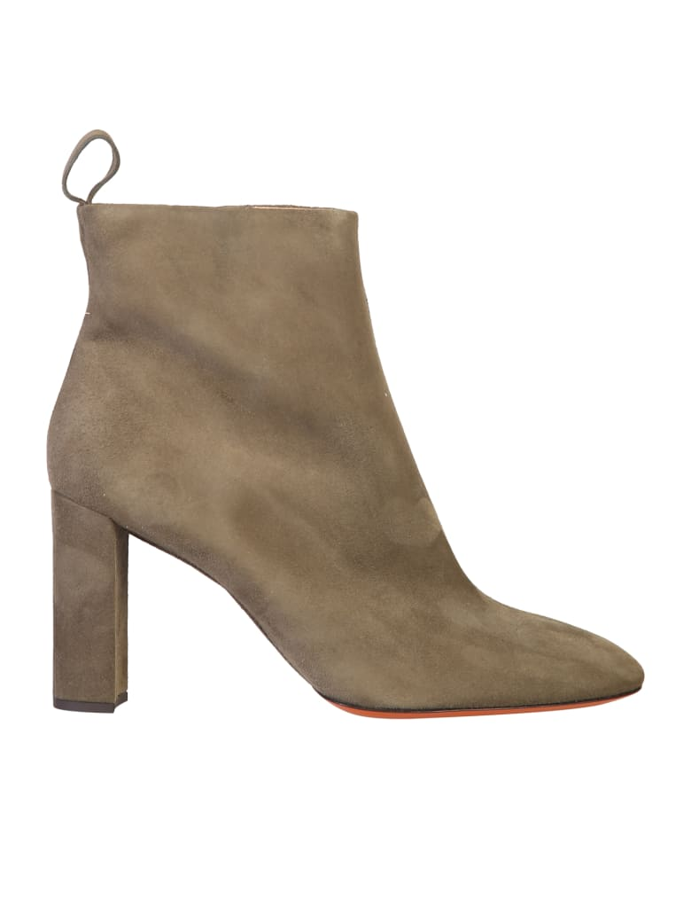 Santoni Ankle Boots - Green