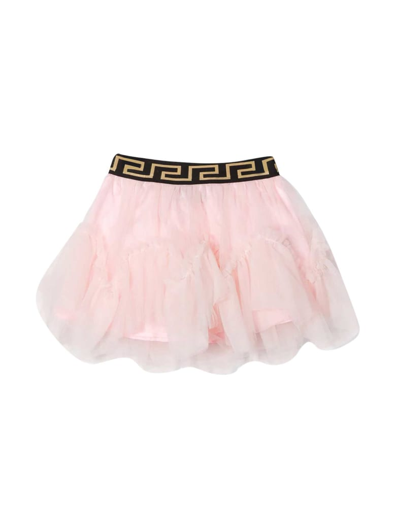 Young Versace Pink Skirt Baby - Rosa