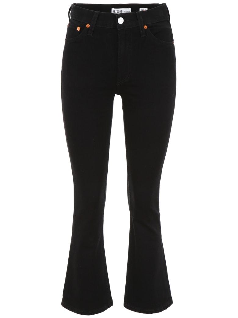 RE/DONE Flare Jeans - BLACK (Black)