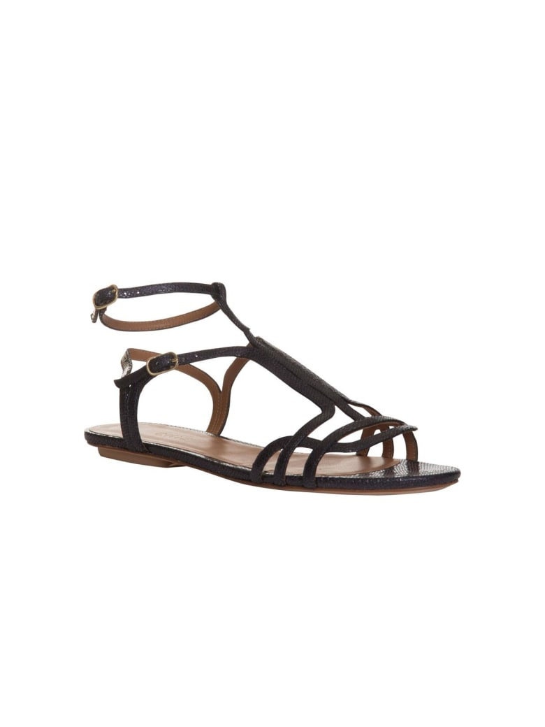 Chie Mihara Open-toe Sandals - NERO