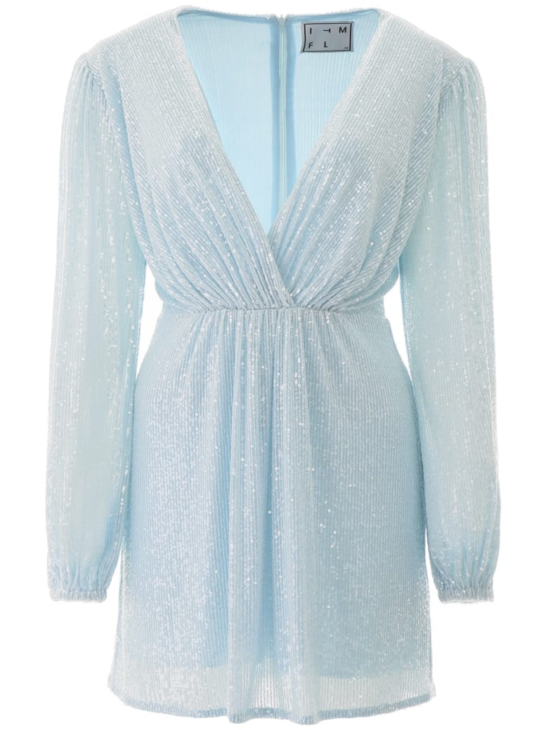In The Mood For Love Young Dress - LIGHT BLUE (Light blue)