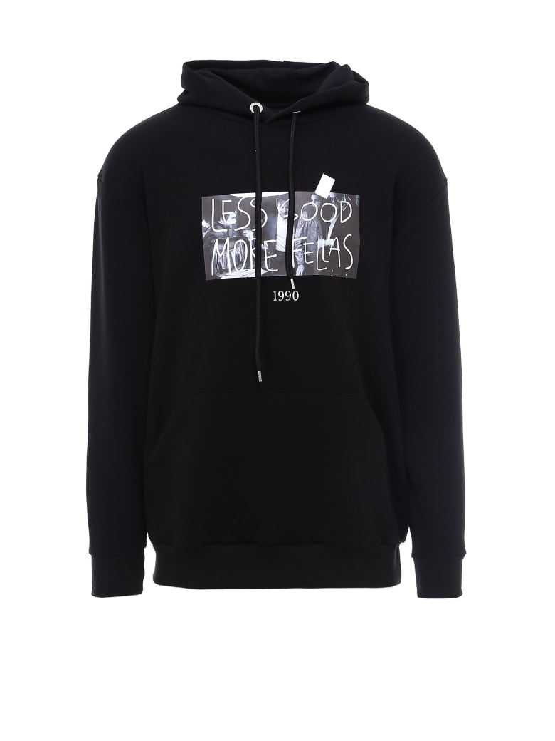 Throwback Italians Sweatshirt - Black