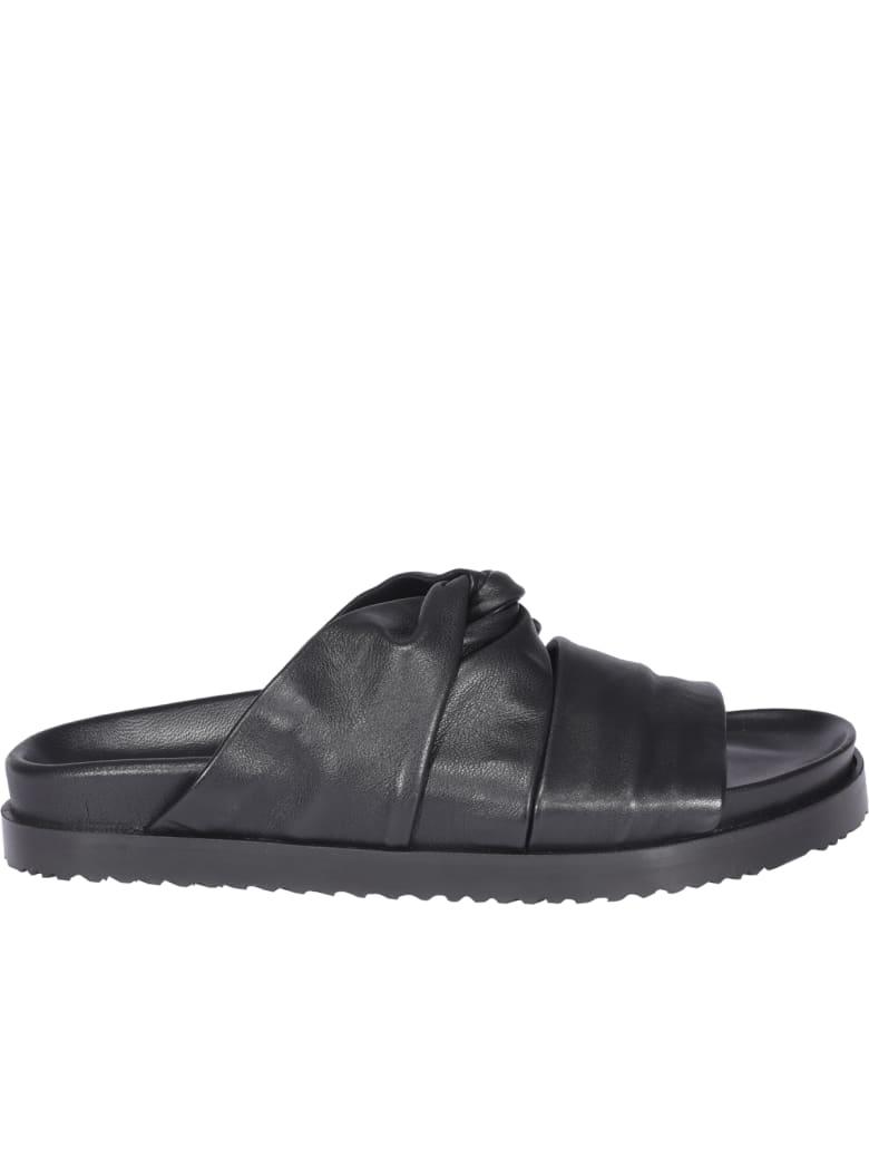 3.1 Phillip Lim Twisted Sandals - Black
