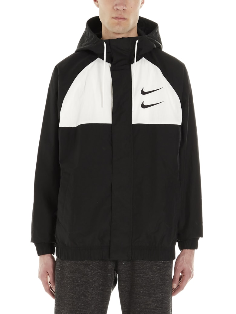 Nike 'swoosh' Jacket - Black&White