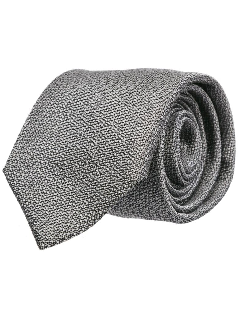 vollständig in den Spezifikationen großer Rabatt achten Sie auf Best price on the market at italist   Emporio Armani Emporio Armani Silk  Tie Necktie